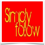 website simply follow button png