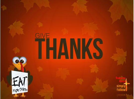 Tonight, Wednesday 11/19 is Thanksgiving dinner at The Loop!